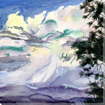 Sunset Drama Wrapped Canvas Giclee Art Print Wall Art