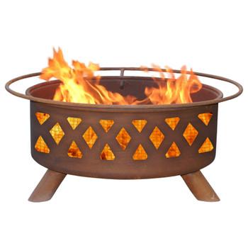 Crossfire Metal Fire Pit