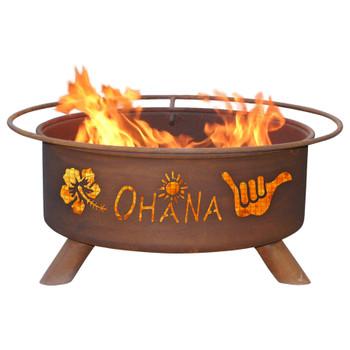 Ohana Metal Fire Pit