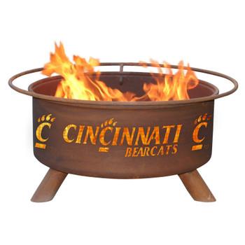 University of Cincinnati Bearcats Metal Fire Pit