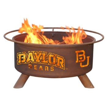 Baylor University Bears Metal Fire Pit