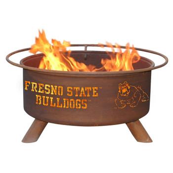 Fresno State Bulldogs Metal Fire Pit