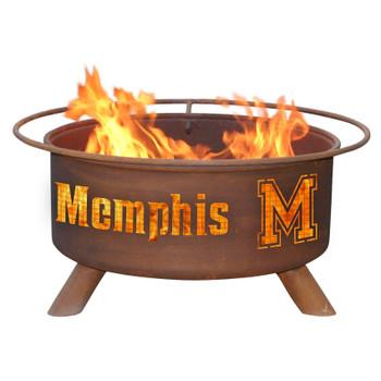 University of Memphis Tigers Metal Fire Pit