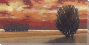 Autumn Sky Wrapped Canvas Giclee Print Wall Art
