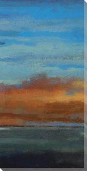 Blue Sky I Wrapped Canvas Giclee Print Wall Art