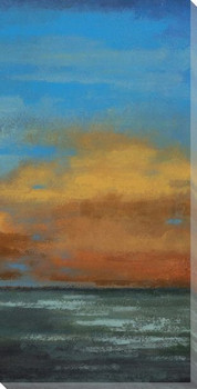 Blue Sky II Wrapped Canvas Giclee Print Wall Art