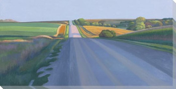 Open Road Wrapped Canvas Giclee Print Wall Art