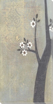 Flowering Dogwood I Wrapped Canvas Giclee Print Wall Art