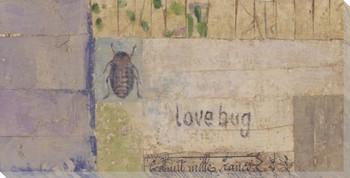 Wetlands #6 Love Bug Wrapped Canvas Giclee Print Wall Art