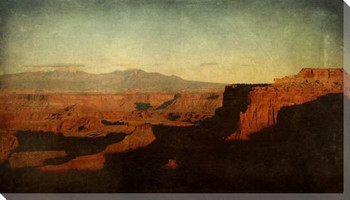 Morning View Across the Grand Canyon Wrapped Canvas Giclee Print