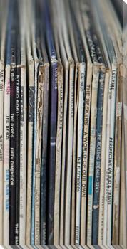 Vintage Vinyl IV Wrapped Canvas Giclee Print Wall Art