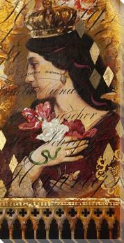 Romance Novels Portrait Wrapped Canvas Giclee Print Wall Art