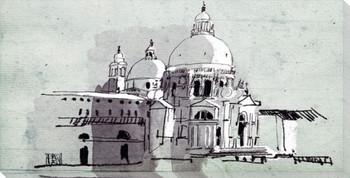 Santa Maria della Salute Wrapped Canvas Giclee Print Wall Art