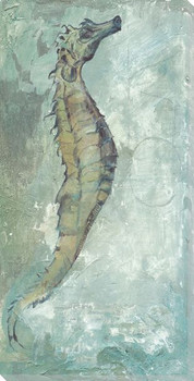 Seahorse Wrapped Canvas Giclee Print Wall Art