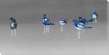 Gull Birds II Wrapped Canvas Giclee Print Wall Art