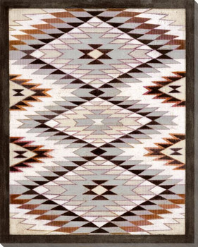 Navajo Rug Wrapped Canvas Giclee Print Wall Art