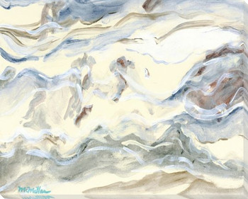 Seafoam Wrapped Canvas Giclee Print Wall Art