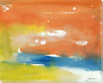 Calm Sea Wrapped Canvas Giclee Print Wall Art