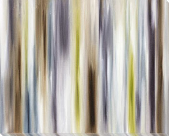 Striation 3 Wrapped Canvas Giclee Print Wall Art
