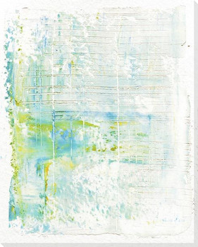 Splash 5 Wrapped Canvas Giclee Art Print Wall Art