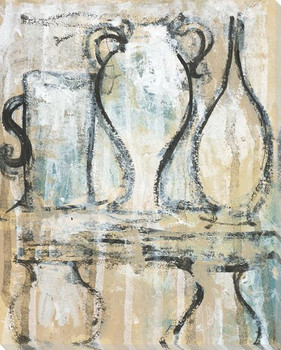 Archival Pottery 3 Wrapped Canvas Giclee Print Wall Art