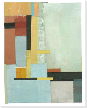 Constructures 1 Wrapped Canvas Giclee Art Print Wall Art
