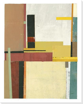 Constructures 2 Wrapped Canvas Giclee Art Print Wall Art
