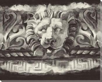 Roman Relic V Wrapped Canvas Giclee Art Print Wall Art