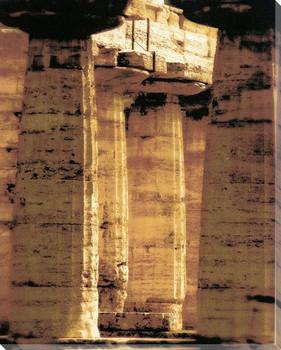 Amalfi Columns Wrapped Canvas Giclee Art Print Wall Art