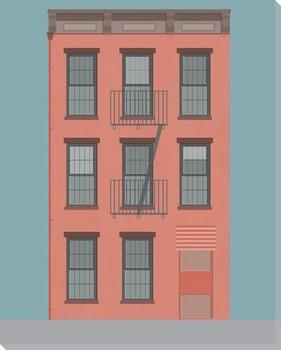 New York Plan 3 Wrapped Canvas Giclee Art Print Wall Art
