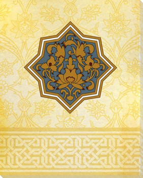 Moroccan Medallions 1 Wrapped Canvas Giclee Art Print Wall Art