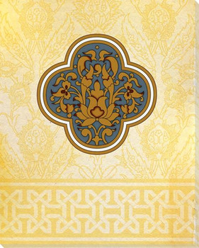 Moroccan Medallions 3 Wrapped Canvas Giclee Art Print Wall Art