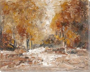 Autumn Splendor Wrapped Canvas Giclee Print Wall Art