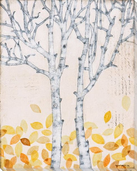 Autumn Jewels II Wrapped Canvas Giclee Print Wall Art