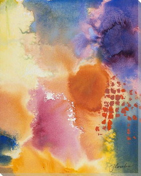 Fall Kaleidoscope II Wrapped Canvas Giclee Print Wall Art