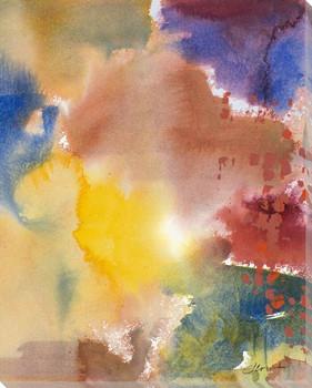 Fall Kaleidoscope III Wrapped Canvas Giclee Print Wall Art