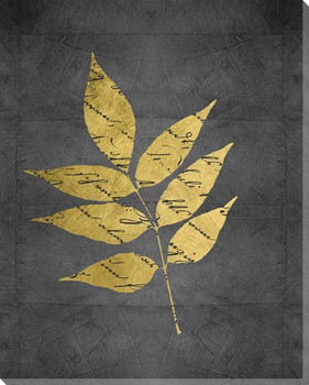 Natures Discourse Leaf I Wrapped Canvas Giclee Art Print Wall Art