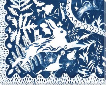 Phantasm Bunny Rabbit 4 Wrapped Canvas Giclee Print Wall Art
