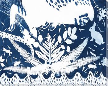 Phantasm Bunny Rabbit 5 Wrapped Canvas Giclee Print Wall Art