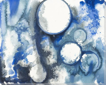 Bubbles 2 Wrapped Canvas Giclee Print Wall Art