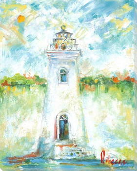 Lighthouse Wrapped Canvas Giclee Art Print Wall Art
