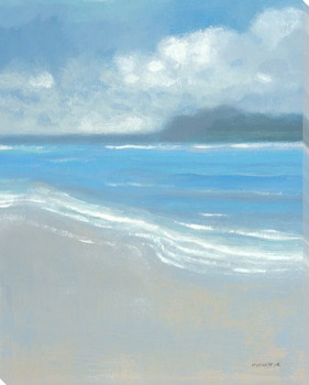 Island Breeze II Wrapped Canvas Giclee Print Wall Art