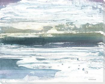 Cloud Coast Wrapped Canvas Giclee Print Wall Art