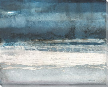 Midnight Tide Wrapped Canvas Giclee Print Wall Art