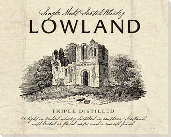 Lowland Scotch Wrapped Canvas Giclee Print Wall Art