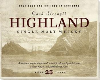 Highland Scotch Wrapped Canvas Giclee Print Wall Art