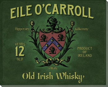 Eile O'Carroll Whiskey Wrapped Canvas Giclee Print Wall Art