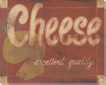 Excellent Quality Cheese Wrapped Canvas Giclee Print Wall Art