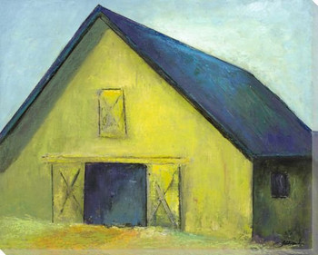 Harvest Barn Wrapped Canvas Giclee Print Wall Art