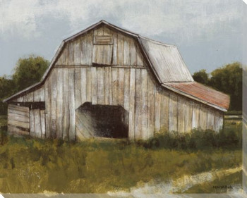 Abandoned Barn Wrapped Canvas Giclee Print Wall Art